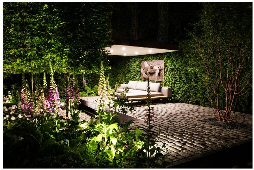 Silver Gilt Award winning garden display