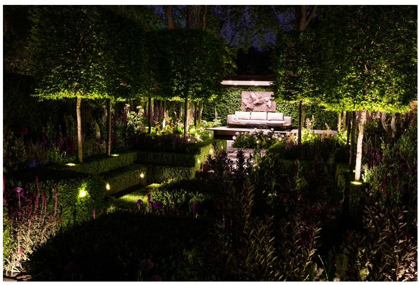 Chelsea Garden lighting design by ME LIghting