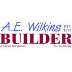 AE Wilkins Builder Logo