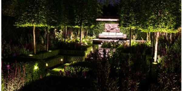 Chelsea Garden lighting design by ME LIghting