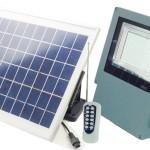 Solar panel lights