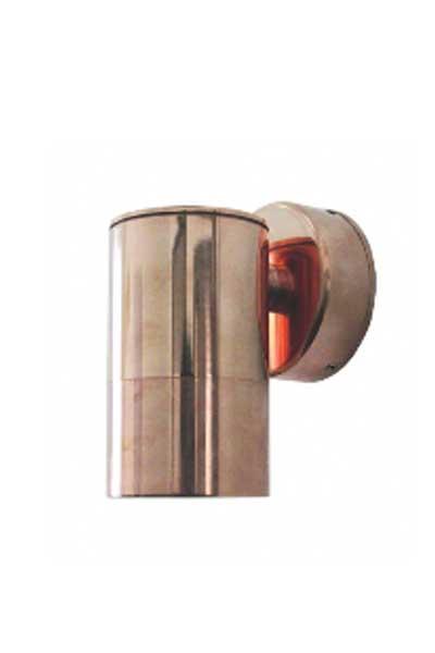 Copper wall light straight