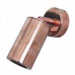 Copper wall light