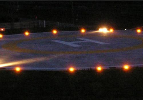heli amber lights